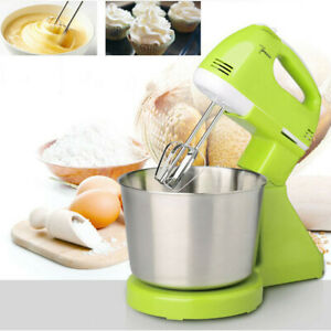 7-Speed-Electric-Food-Cake-Egg-Cookie-Blender-Bowl-Dough-Handheld-amp-Stand