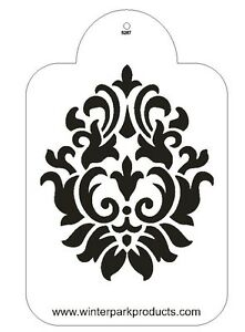 Damask Stencil For The Designer Stencil for Decorating Cake #S267