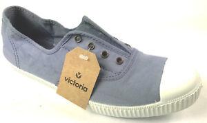 Détails sur Neuf Victoria Chaussures Inglesa Elastico. Couleur Azul. Fait en Espagne