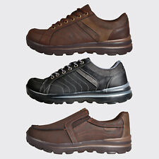 Walk Pro Elite MEMORY FOAM Casual Dress Smart Comfort Shoes Trainers