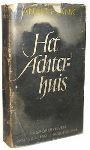 Anne-Frank-COLLECTION-OF-188-ITEMS-INCLUDING-RARE-UNRESTORED-FIRST-EDITION