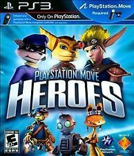 PlayStation Move Heroes (Sony PlayStation 3, 2011) PS3 Complete