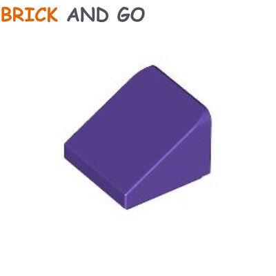 Lego 10x slope brick brique pente 30° 1x1x2//3 violet trans purple 54200 NEUF