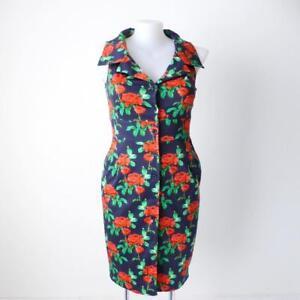 MOSS-amp-SPY-NEW-Size-14-16-US-10-12-Sleeveless-Shirt-Dress-Made-in-Australia