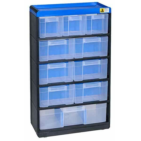 Sortimentskasten Sortierkasten Werkzeugkasten Schraubenbox Kleinteilemagazin NEU