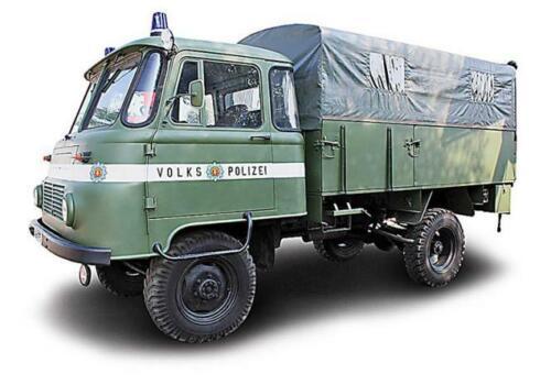 1973 Busch Camion Robur LO 2002 A populaire de police
