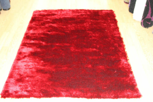 Super Soft Thick Plain Whisper Shaggy Rug Non Shed Deep Pile S-M-L-XL NOW 25/% OF