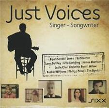 Just Voices-Singer-Songwriter von Various Artists (neu + OVP)  3-CD-Set