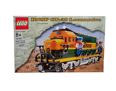 risparmia fino al 70% di sconto Nuovo Lego TRAIN 10133 Burlington Burlington Burlington Northern Santa Fe (BNSF) GP-38 Locomotive SEALED  più preferenziale
