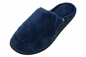40b54c7ac Image is loading Isotoner-Men-039-s-Microterry-Clog-Slippers-Multiple-