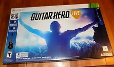 GUITAR HERO LIVE Controller XBOX 360 GAME Microsoft Activision Box Set NEW