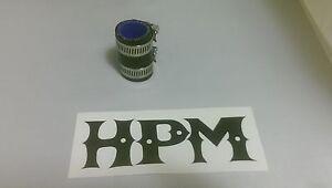 "HPM 5 Ply /"" Black /"" BANSHEE 1/"" Exhaust Couplers"