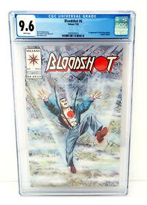 BLOODSHOT-6-CGC-9-6-Valiant-Comics-1993-1st-Apperance-NINJAK