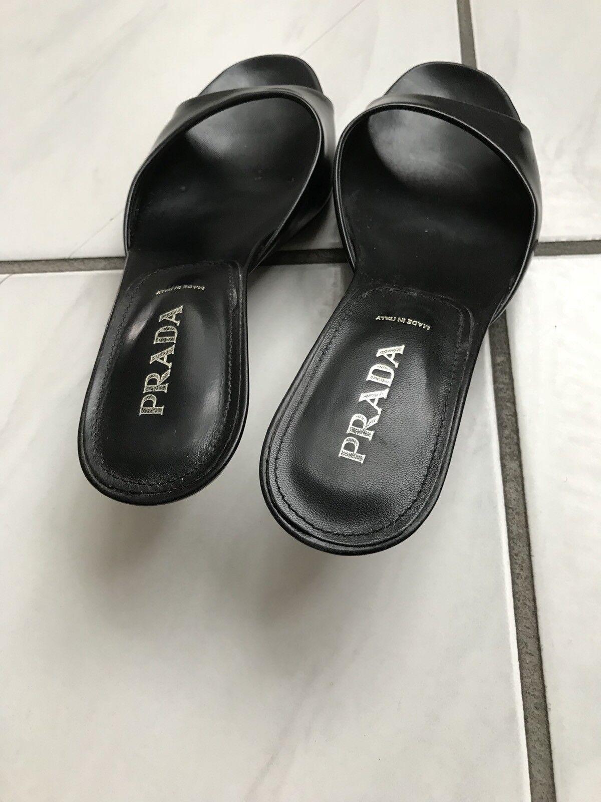 High Heels Heels High Sandalen Von Prada. 37,5 f21ecf