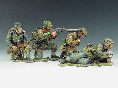 King and (&) Country WS051 - MG42 Gun Group - Retired