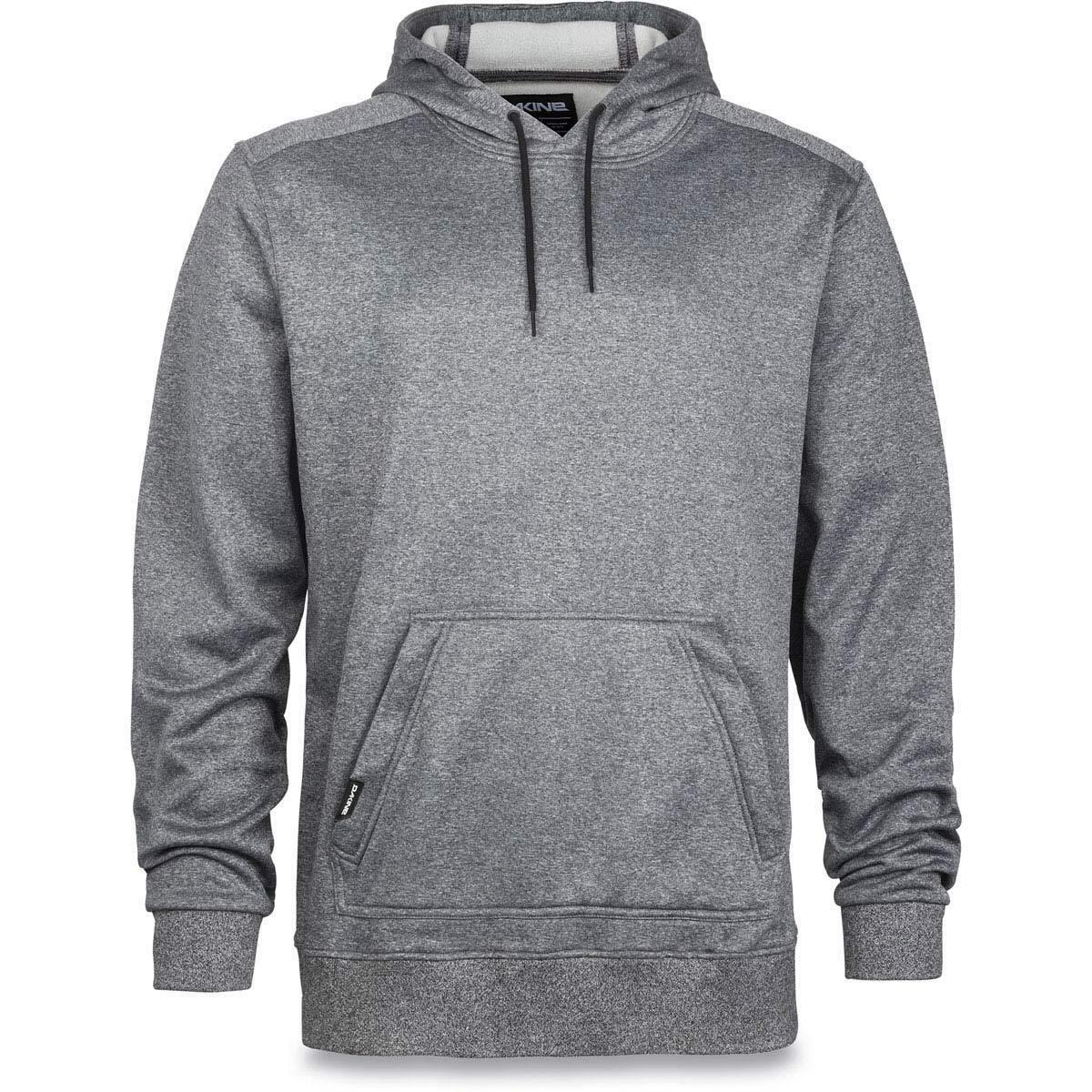 2017 NWT DAKINE  Herren IRONSIDE TECH HOODIE XL 95 heatherGrau adjustable hood