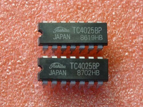 CMOS CD4025 boitier DIL14