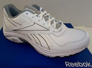 065fba3b97fa REEBOK DMX Max Mania Men s Leather Walking Shoes White 6.5-14M NWD ...