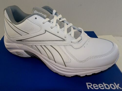 REEBOK DMX Max Mania Men/'s Leather Walking Shoes  White   6.5-14M  NWD