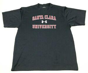 Under Armour Santa Clara Broncos Shirt Size Extra Large XL Black Short Sleeve T