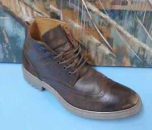 KURT GEIGER 170139 Chukka Suede Dress Ankle Boots 45 ITALY