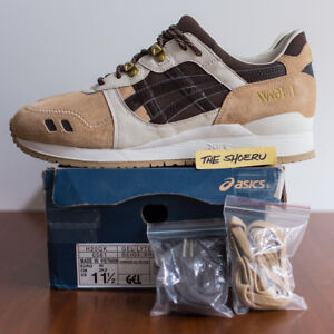 official photos d88c2 d2e97 Details about Asics x Woei Gel-Lyte III Cervidae Size 11.5 ronnie fieg v 3  5 cove kith RARE!