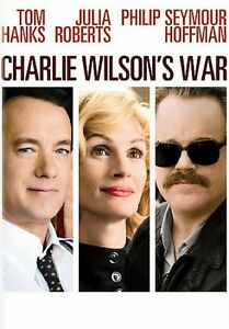 New Sealed  DVD Charlie Wilson's War Tom Hanks, Julia Roberts & Philip Hoffman