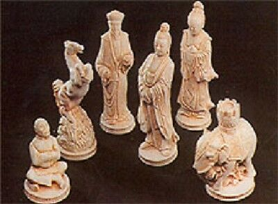 MOULDS ONLY Make Your Own Chess Sets With These 9 X Lewis No 1 Chess Set Latex