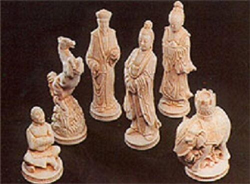 SUPERCAST REF 0022  9 x  EASTERN CHESS REUSABLE LATEX CHESS MOULDS / MOLDS
