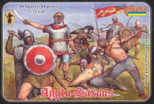 Soldatini Figure STRELETS.R ANGLO-SAXONS COD. 0016 SCALA 1/72