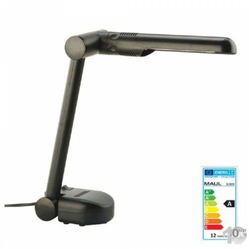 310 mm MAUL Energie-Spar-Schreib-Tisch-Leuchte Easy schwarz max.-Höhe