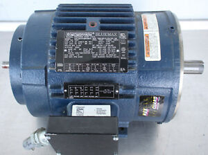 Image Is Loading Regal Beloit Marathon Y527 182thts8028 Bluemax Electric Motor