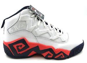 7c751180 Details about FILA Men's MB Heritage Sneaker 1BM00215-125 Wht/Ctom/Fnvy
