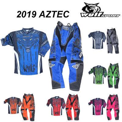 Wulfsport Cub Kids Youth Aztec Motocross Shirt Race Off Road Jersey Enduro MX