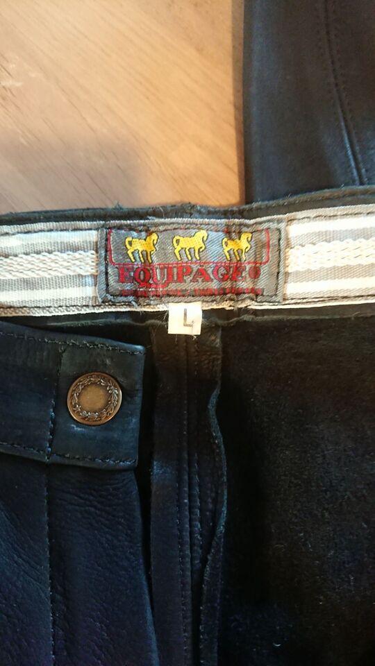 Ridebukser, Helskinds equipage ridebukser, str. L