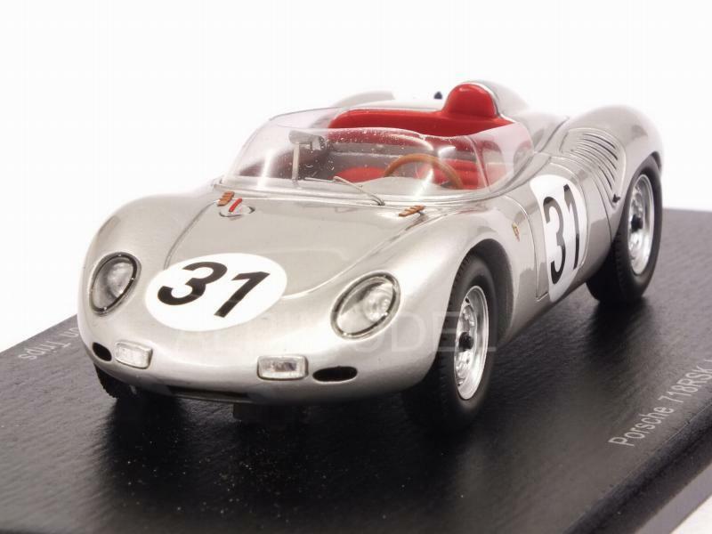 Porsche 718 RSK Le Mans 1959 Bonnier - Von Trips 1:43 SPARK S4676