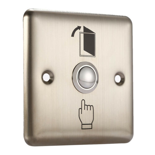 Golden Release Switch Door Entry Button Exit Switch Easy to Operate and Use