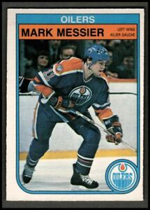 1982-83-O-Pee-Chee-117-Mark-Messier-OILERS-EX-MT