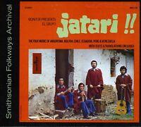 El Grupo Jatari - El Grupo Jatari: Folk Music Of Argentina [new Cd] on sale