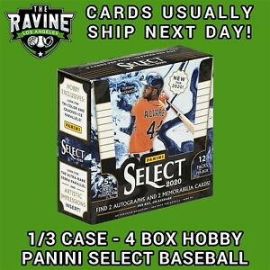 MIAMI-MARLINS-2020-PANINI-SELECT-BASEBALL-1-3-CASE-4-BOX-TEAM-BREAK-1b