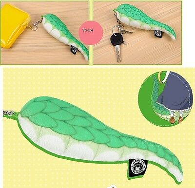 Miss Kobayashi's Dragon Maid Tooru vivid plush dragon tail keychain straps 13cm