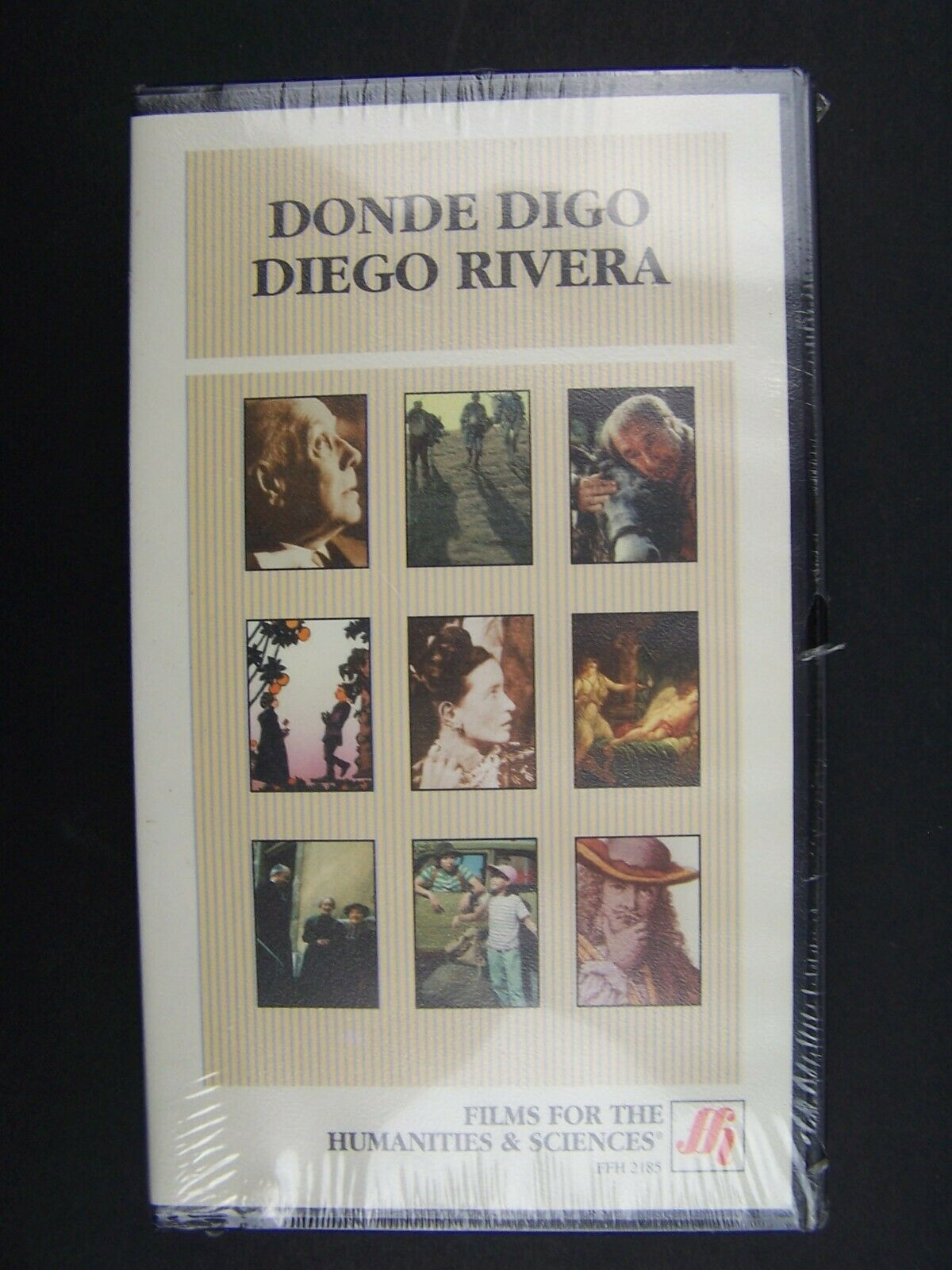 Donde digo Diego Rivera VHS Video Tape New SEALED