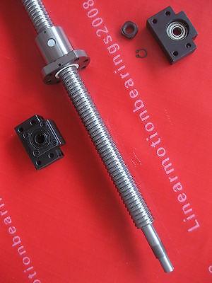 2 ballnuts 1 anti backlash ballscrews RM1204-400mm