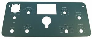 Closeout-Heathkit-SB-300-front-panel-replacement-overlay