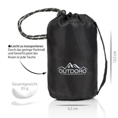 Ultraleichtes Kopfkissen für Strand Outdoro aufblasbares Kissen Reise Camping