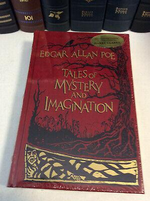 Edgar allan poe leather bound book