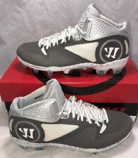 757a1ca37 item 4 Warrior Adonis 2.0 Mens Size 12 Lacrosse Lax Cleats White Grey New   145 -Warrior Adonis 2.0 Mens Size 12 Lacrosse Lax Cleats White Grey New   145