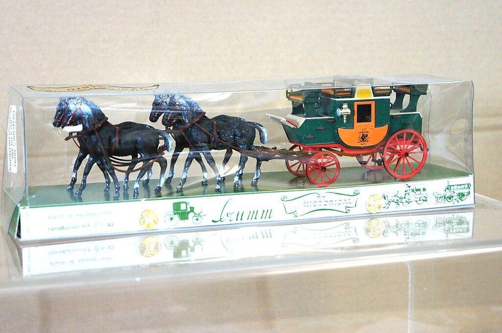 Brumm Historique Séries 016 Anglais Royal Mail Autobus 1784 Londres  York Na  prix les plus bas