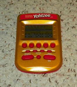 YAHTZEE GOLD - Electronic Handheld Game