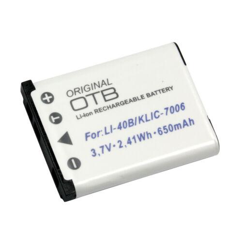 Bateria para olympus fe-290 Li-ion